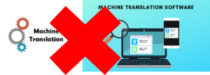 Automatic translation tools only upon request